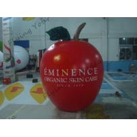 Wholesale 6ft High Apple Fruit Shaped Balloons For Exhibition Display , Inflatable Hanging Balloon from china suppliers