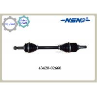 Buy cheap Front Right Automotive Shaft drive Axle 43420-02660 With Impact Structure from wholesalers