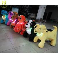 China Hansel battery operated toys animated plush animals happy rides on animal on sale