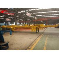 Wholesale 45- Foot Container Terminal Dedicated 2 Axles Semi - Trailer In Yellow from china suppliers