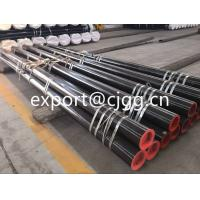 Best Round Din1629 Hot Finished Seamless Tube , ST52 / Q345 Thin Wall Steel Tubing wholesale