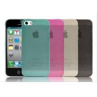 Wholesale TPU Transparent Matte Cellphone Case For iPhone4 / 5 , Samsung Galaxy S4 / HTC from china suppliers