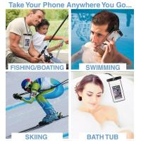 Wholesale TPU Material Waterproof Phone Bag Holder For Swimming / Running / Snorkeling from china suppliers