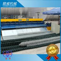 Automatic Chain Link Fencing Machine / 0.5m - 4.2m Weaving Breadth