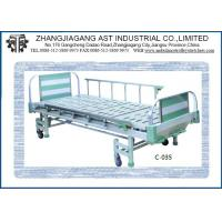 Quality Manual 3 Position Medical Clinic Bed , Three Function Hospital Bed for sale