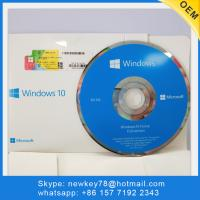 China Genuine Used globally Original Microsoft Windows 10 Home OEM with DVD Win 10 computer operating system Software for sale