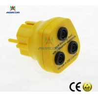 Wholesale EU ESD Earth Bonding Plug from china suppliers