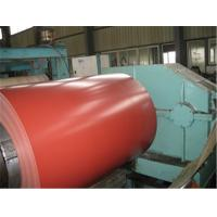 PE PVDF Galvanized Prepainted Steel Coil Red For EPS Sandwich Panel