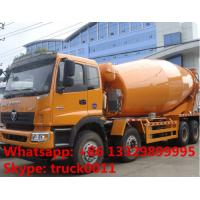 China Foton LHD Euro 3 8*375hp 16cbm cement mixer truck for sale, factory sale 8*4 heavy duty  mixer drum mounted on truck on sale