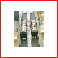 Wholesale Sightseeing High Speed Elevator , Stainless Steel Panoramic Elevator For Passenger from china suppliers