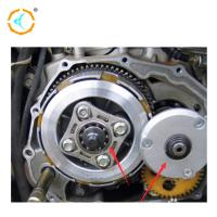 China Chongqing Motorcycle Clutch Kits , CG125 Motorcycle Centrifugal Clutch / Silver Color for sale