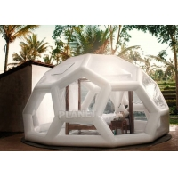 Wholesale 5M Airtight Outdoor Inflatable Bubble Tent Jungle Lodge Ubud from china suppliers