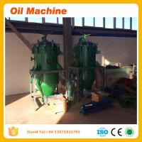 China refining of crude palm kernel oil edible oil refining machine palm Bulk Kernel Silo filter on sale