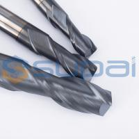 Wholesale 2 Flutes Solid Carbide Tungsten CNC Milling Cutter  End Mill Cutters for CNC Milling Machine from china suppliers