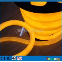 Wholesale 25M spool 12V yellow led neon flex 360 for building from china suppliers