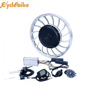 China 40-45 Km / H Electric Bike Kit Front Wheel Gearless Hub Motor 48 Voltage on sale