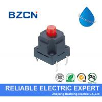 IP 67 Waterproof Micro Switch Red Button Tactile Switch Momentary Operation Type for sale