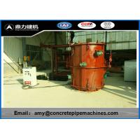 Wholesale High Reliability Precast Concrete Forms , Rcc Pipe Making Machine Faster Production from china suppliers