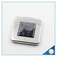 Top Quality Fashion Promotional Square Promotional Metal Pocket Mirror