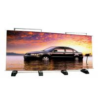 China Custom Double Sided Retractable Banner Stand , Outdoor A Frame Roll Up Banner Stand on sale