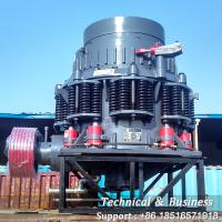 China Basalt Granite River Compound Cone Crusher Machine Low Energy Consumption on sale