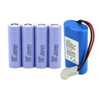 Wholesale Samsung SDI ICR Rechargeable 18650 Li Ion Battery 3.7V High Capacity , Long Cycle Life from china suppliers