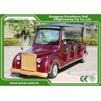 EXCAR Electric Classic Cars For 8 seater With Intelligent Onboard Charger for sale