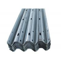 Wholesale Powder Coated W Beam Highway Guard Rail Q195 / Q235 / Q345 Material from china suppliers