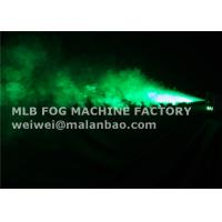 Wireless Remote Control 600 Watt Stage Fog Machine Smoke Fogger With Green Led