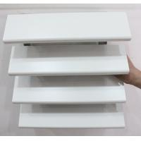 Wholesale Exterior Wall Decoration Sun Control Device Aluminum Louvre System 84R White from china suppliers