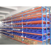 China Long Span Medium Duty Racking System Warehouse Equipment Power Coating for sale