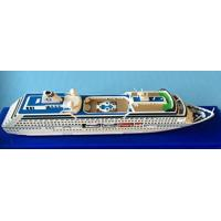 Oceania Regatta Cruise Ship Toy Models Artworks Type With Complicated Mosaic for sale