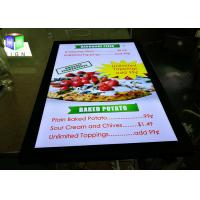 24 X 36 Picture Frame Led Light Box Panels For Menu Board , High Brightness