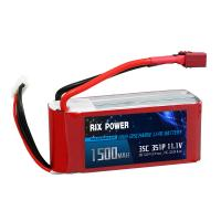 Rix Power 1500mah 35c 3s, RC Airplane Lipo Battery, RC Helicopter Lipo Battery