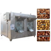 China Tamarind Seed Chana Roasting Machine , India Electric Flax Seed Roaster Stainless Steel on sale