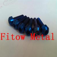 Buy cheap Titanium hexalobular socket raised countersunk head screws Titanium Countersunk from wholesalers