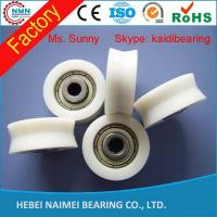 Wholesale Hot sale top quality low price plastic pulley v groove wheel bearing from china suppliers