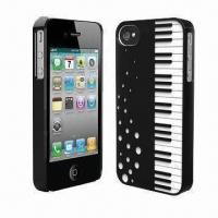 Wholesale Dual Injection PC Cases for iPhone 4/4S, Fashionable Design of Piano Pattern from china suppliers
