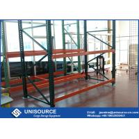 Wholesale Powder Coated Industrial Pallet Racks Heavy Duty Garage Shelving Corrosion Resistant from china suppliers