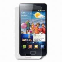 Wholesale Clear Screen Protector for Samsung Galaxy S II, with Transparent PET from china suppliers