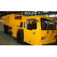 Wholesale Yellow Underground Utility Vehicle , Underground Personnel Carrier Centralized Lubrication System from china suppliers
