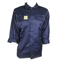 Wholesale Navy Blue Unisex Supervisor Manger 220g ESD Smock from china suppliers