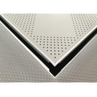 Wholesale Aluminium Powder Coated Perforated Metal Ceiling Panel 600 X 600 X 0.6mm from china suppliers