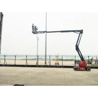 Wholesale Premium quality Self Propelled Aerial Work Platform Electric Articulated Boom Lift Platform For Construction from china suppliers