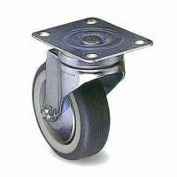 Wholesale Industrial Caster with 31mm Wheel and 100mm Outside Diameter, Composed of PUP/TPR Materials from china suppliers
