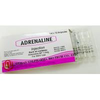 Wholesale Injectable Liquid Adrenaline Medicine , Adrenaline Injection For Anaphylaxis / Asthma from china suppliers