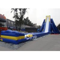 Wholesale 10m high giant blow up hippo inflatable adult water slide with lead free material for inflatable water park from china suppliers