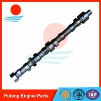 Wholesale excavator motor parts Mitsubishi 4D31 camshaft ME011207 ME013676 ME011296 for E70 HD400 HD450 SH45U from china suppliers
