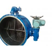 Buy cheap Gear Operated Flanged Butterfly Valve 1000mm for Hydropower from wholesalers