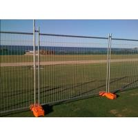 Wholesale Temporary Security Fence Panels , Building Site Fencing 2.4m Length from china suppliers